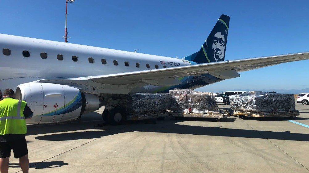 外媒曝光了9月份发生在西雅图-塔科马国际机场的一场事故……