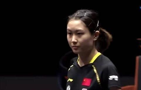 小将刘炜珊3-1意外战胜徐孝元,韩国美女老将被打懵了