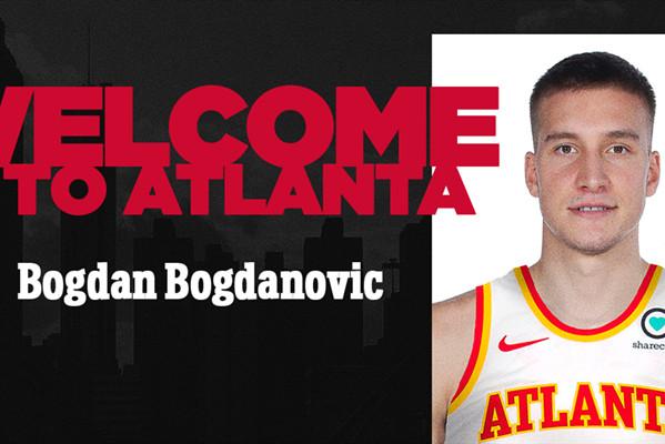 老鹰官方宣布签下博格丹-博格达诺维奇