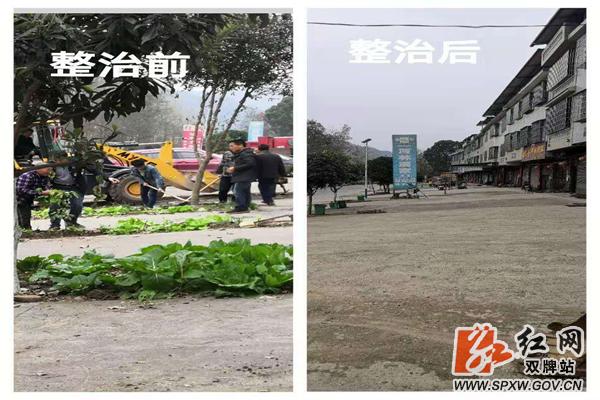 双牌县麻江镇:党员干部起带头 环境整治出实效