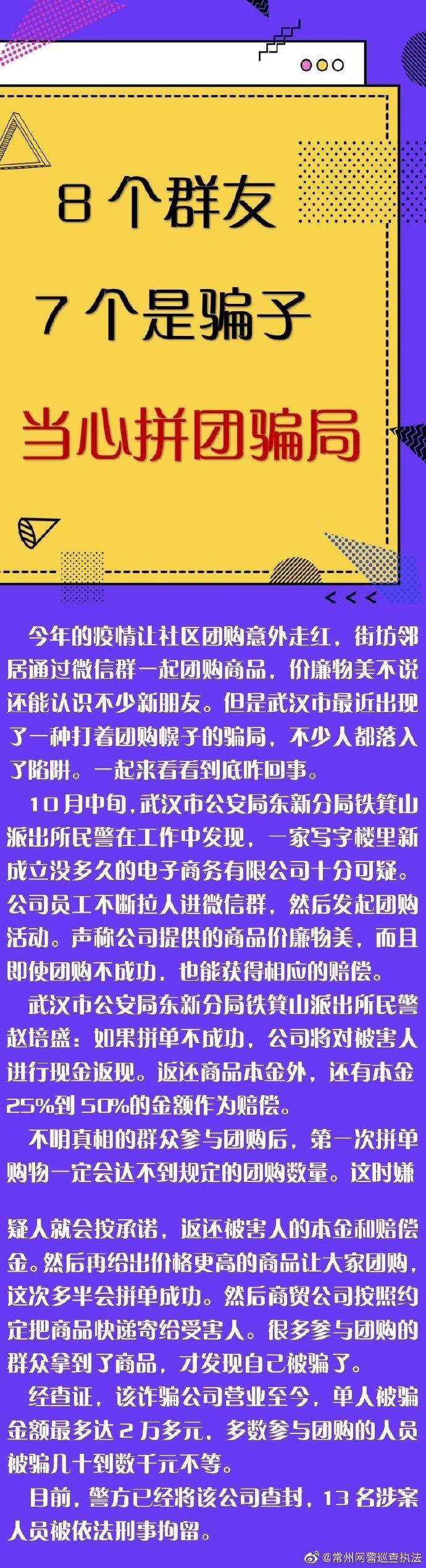 净网2020  8个群友7个是骗子 【小心拼团骗局】剑指诈骗