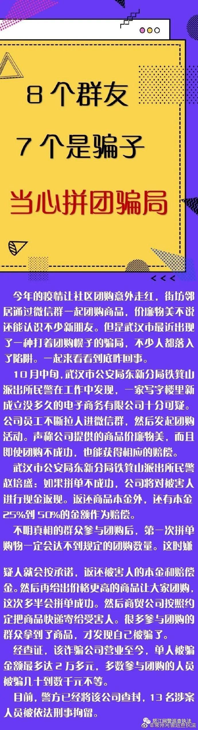 净网2020【8个群友7个是骗子 当心拼团骗局】剑指诈骗