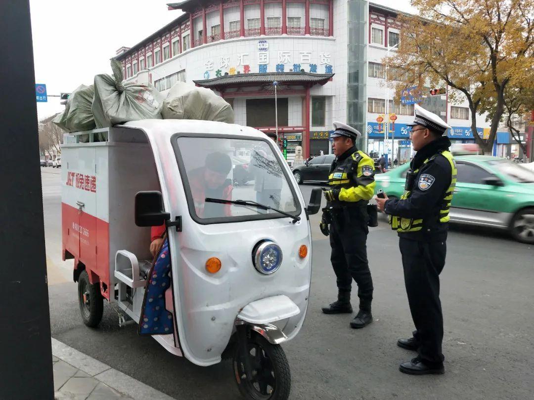 """市交巡警大队启动冬季交通安全整治""""百日会战"""""""