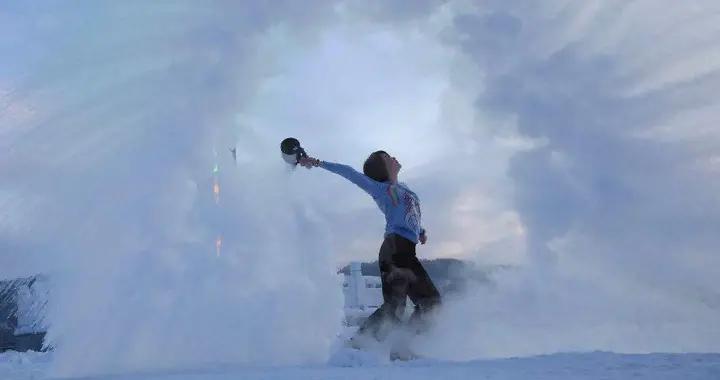 到此一游 玩雪、看冰泡、打卡最北邮局,冬天去寄一张北国明信片