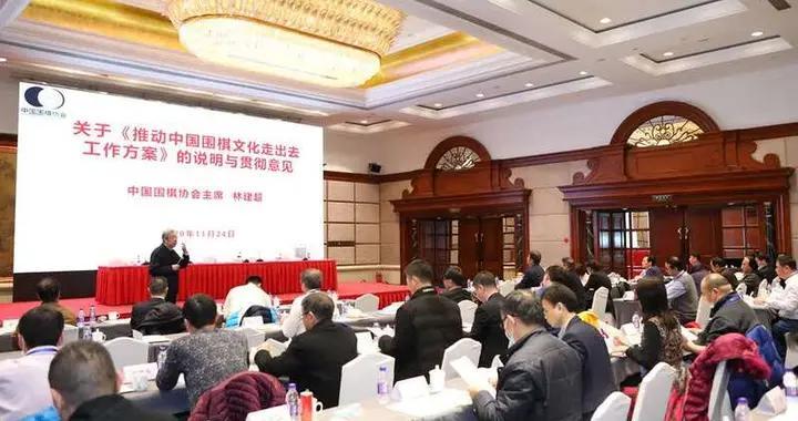 中国围棋协会拟加大围棋文化对外推广力度