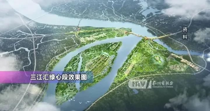 """惊艳!杭州三江口将大变样,""""未来城市""""要来了"""