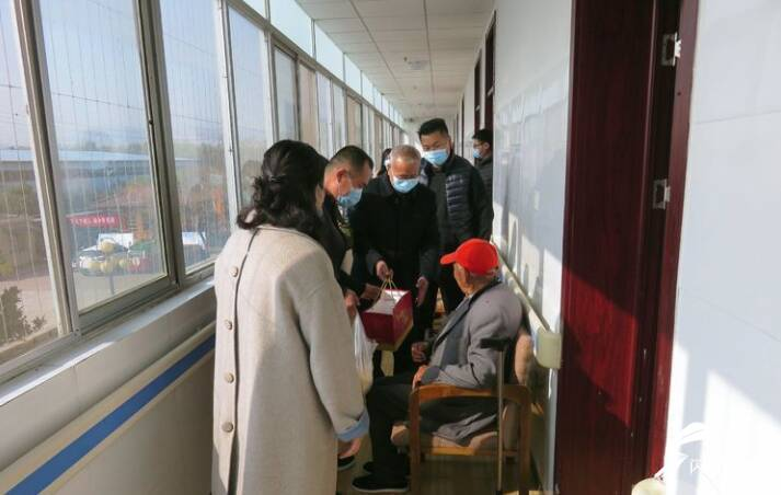 老吾老以及人之老!枣庄市中区志愿者走进敬老院开展新时代文明实践活动