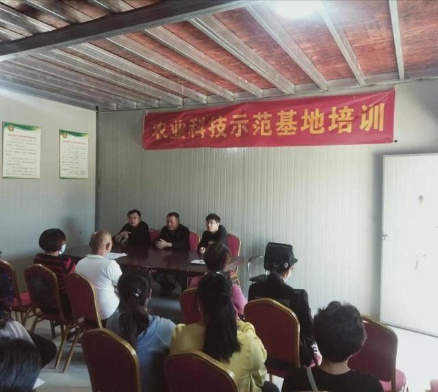 莆田市农科所科技人员赴仙游县大济镇开展技术培训