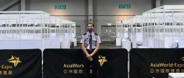 """香港疫情""""森林大火般蔓延""""!方舱重启!"""