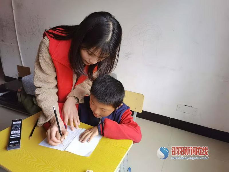 双清区第一实验小学开展送教上门志愿服务