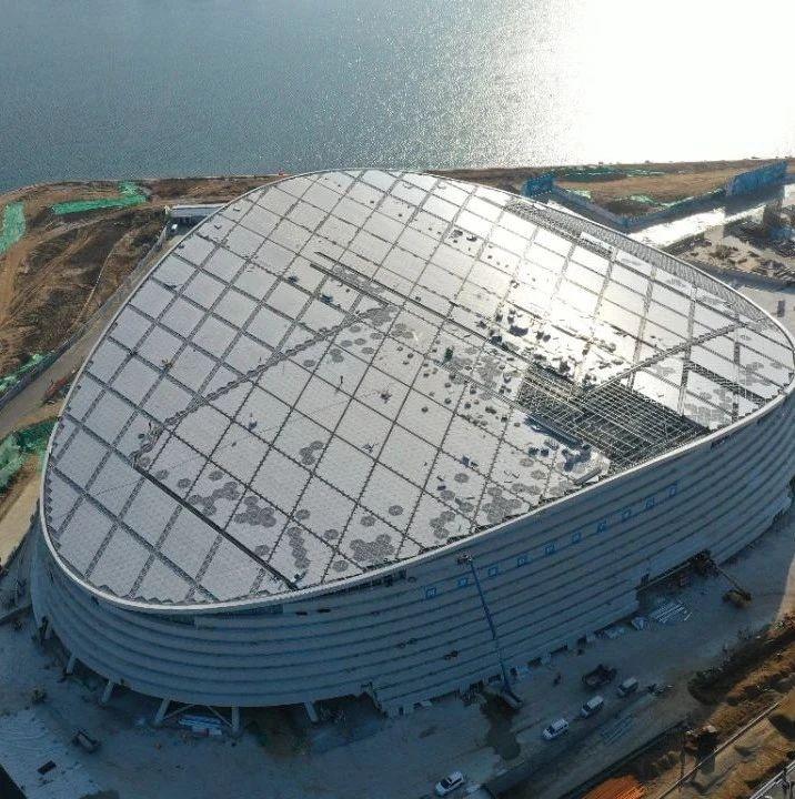 威海国际经贸交流中心会展区年底竣工