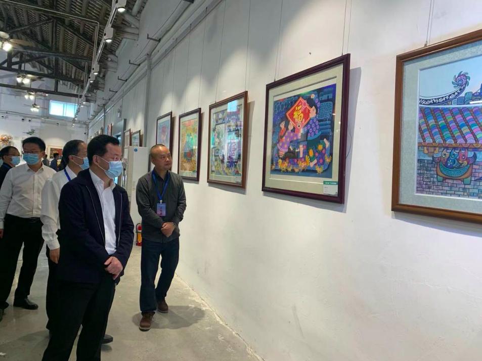 第三届广东农民画展在中山小榄举行