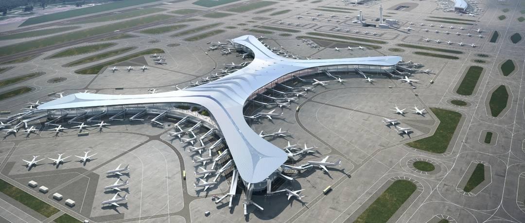 加快航空枢纽建设 重庆江北国际机场T3B航站楼及第四跑道工程开工