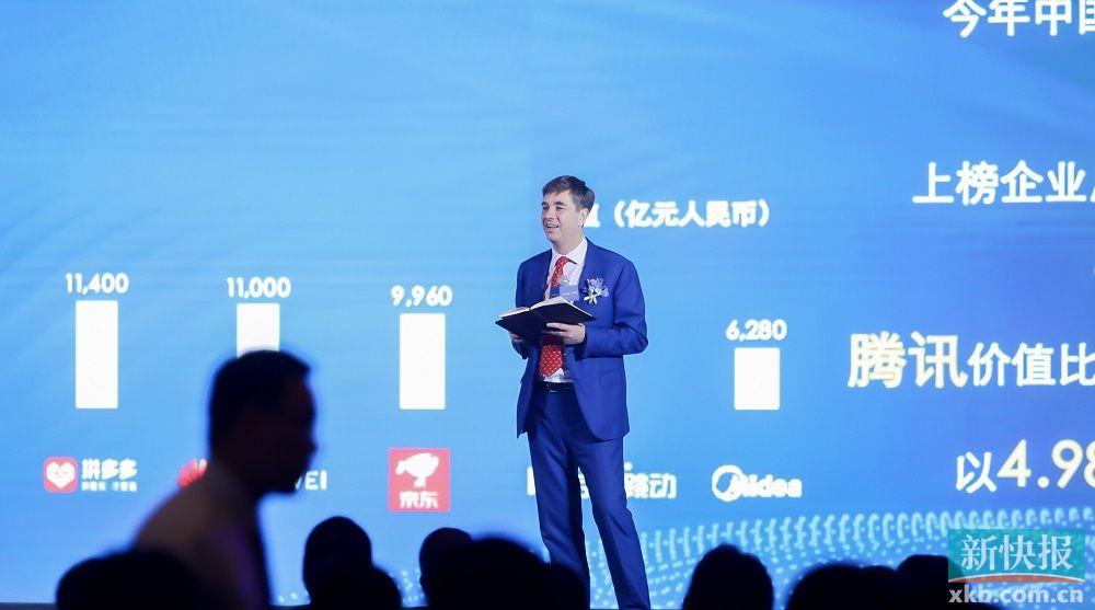 胡润中国500强民企榜出炉,腾讯价值近5万亿元首次登顶