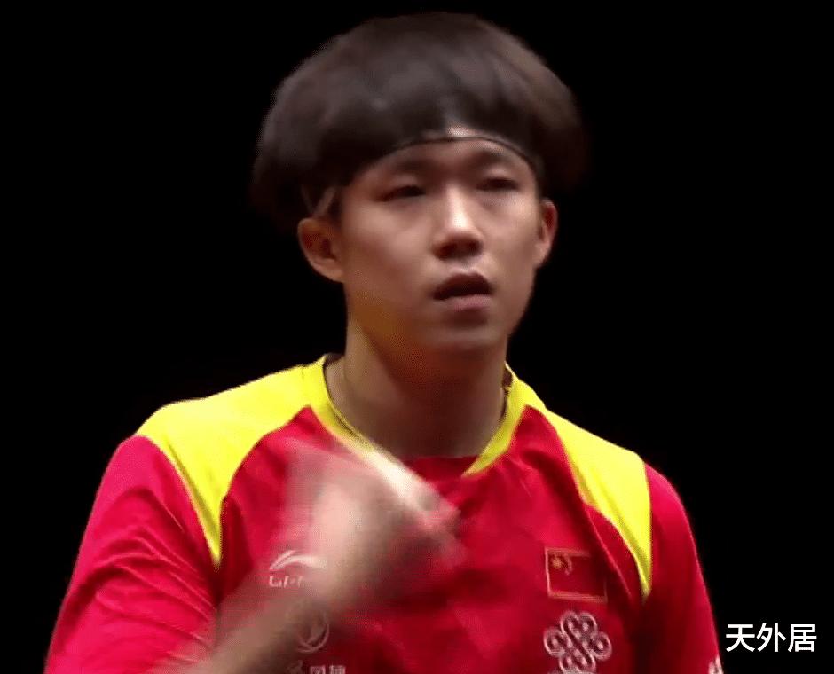 3-1进八强!国乒最强00后复赛国际赛首秀,刘国梁哥哥拿他没办法