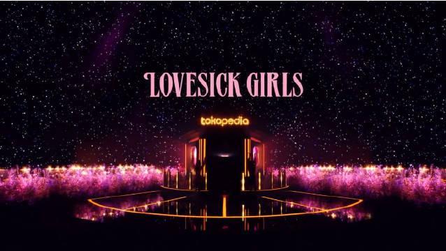 🌟 BLACKPINK粉墨最新印尼TokopediaWIB TV Show 节目 表演《Lovesick girls》
