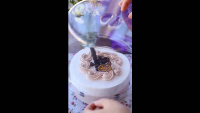自制焦糖珍珠奶茶,搭配珍珠奶茶蛋糕