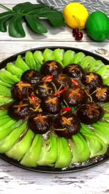 香菇油菜做法