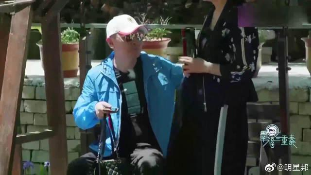 明星展现铁汉柔情名场面:吴京浪漫哄谢楠吃饭……