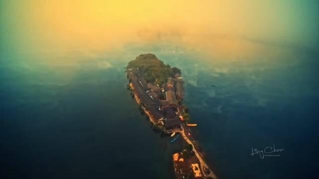 千岛湖美景好似调色盘,泸沽湖里格半岛,晨雾仙境航拍风景云海