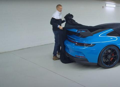 全新保时捷911 GT3实车曝光 最大功率510马力