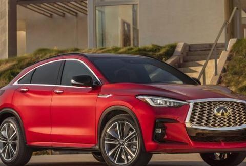 英菲尼迪全新轿跑SUV发布,新车将于BBA展开竞争