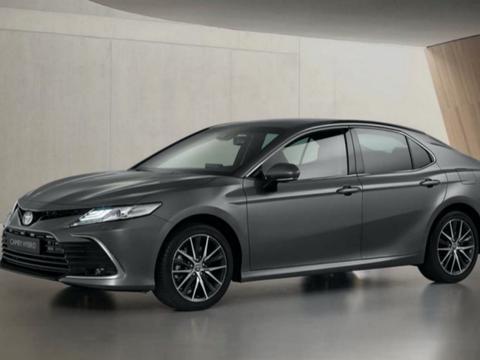丰田欧洲宣布新款凯美瑞双擎官图,作为中期改款车型