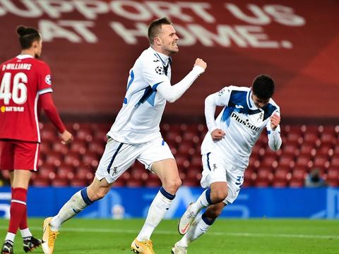 第一人!伊利契奇:本赛季欧冠首位攻破利物浦大门