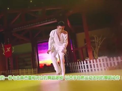天天向上:杨丽萍徒弟大秀舞蹈,引领一代潮流,不愧是钦点男一!