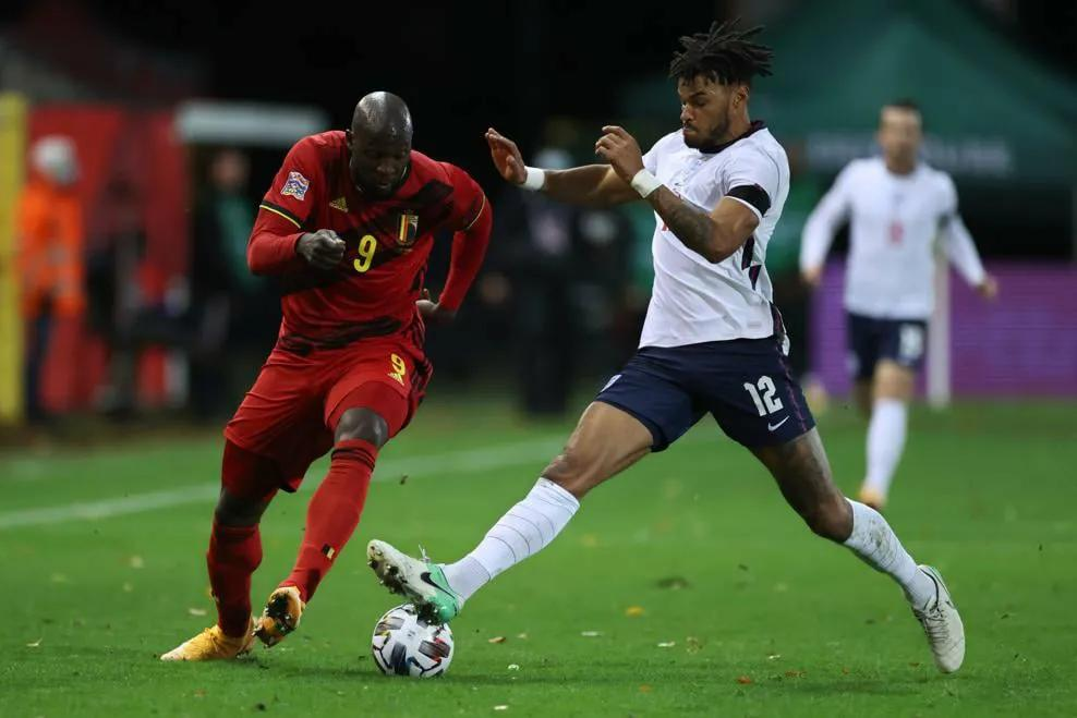 """欧洲国家联赛杯""""欧洲红魔""""比利时3:0击败""""三狮军团""""英格兰"""