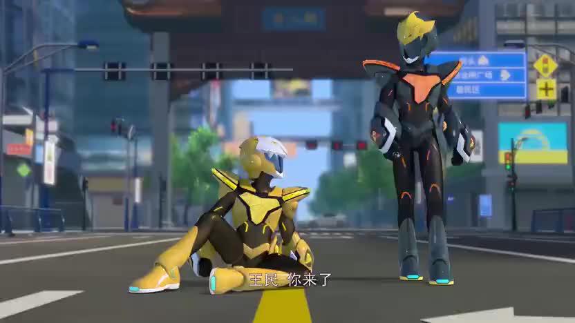 """【神兽战队拯救世界】魔鱼超人出手,""""秒杀""""近视机械兽!"""