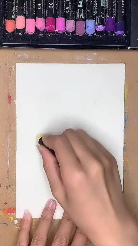 得当幼儿小熊维尼卡通蜡笔划来咯……