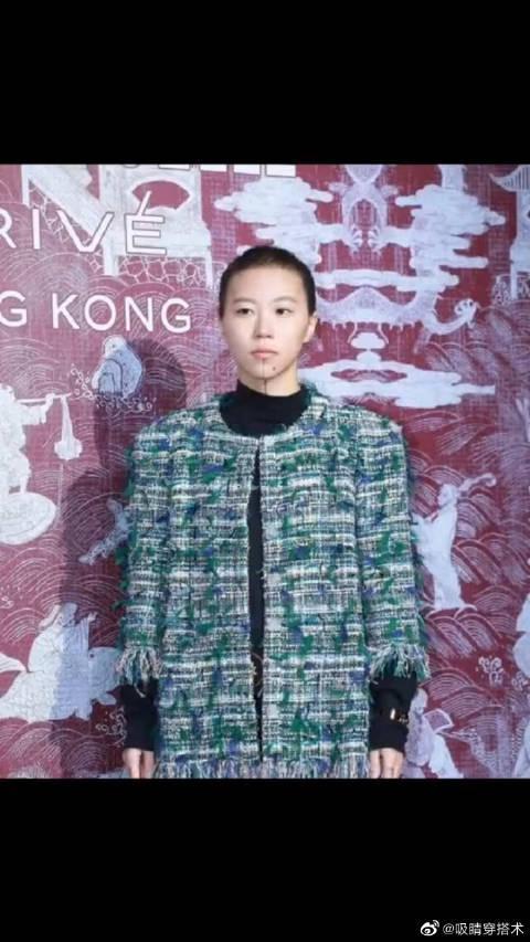 香奈儿三万一件的外套,被窦靖童穿成山寨…………