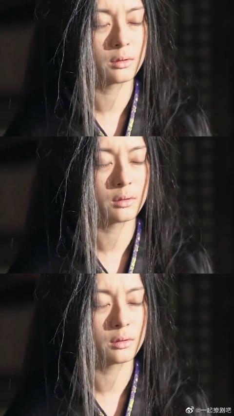 义渠君去世,芈月心痛万分 一头青丝变白发,这种爱情令人心疼!……