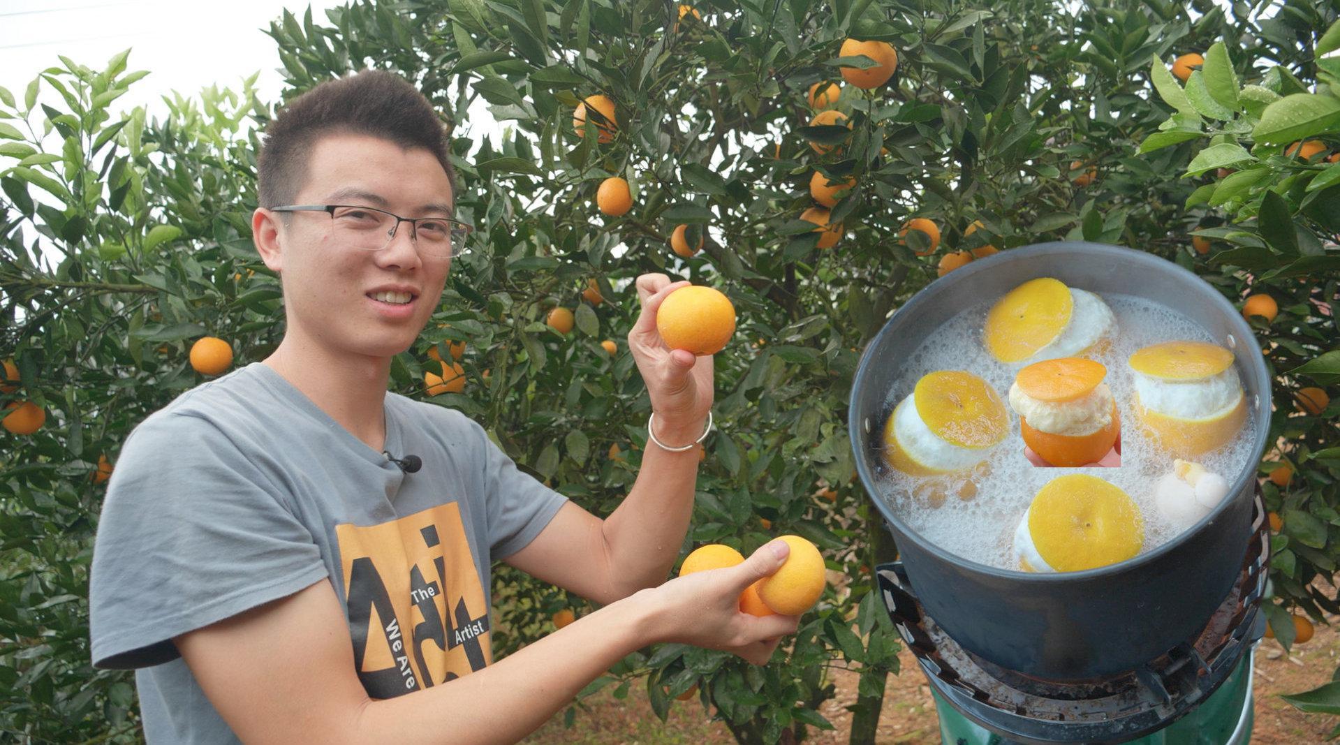 橙子和鸡蛋都是很常见的美食,但这两者碰撞真的有初恋的味道!