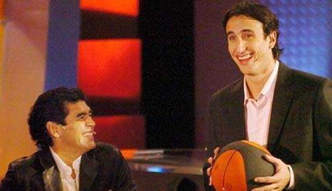 马拉多纳的NBA情缘!喜欢乔丹库里和詹姆斯,盛赞妖刀吉诺比利