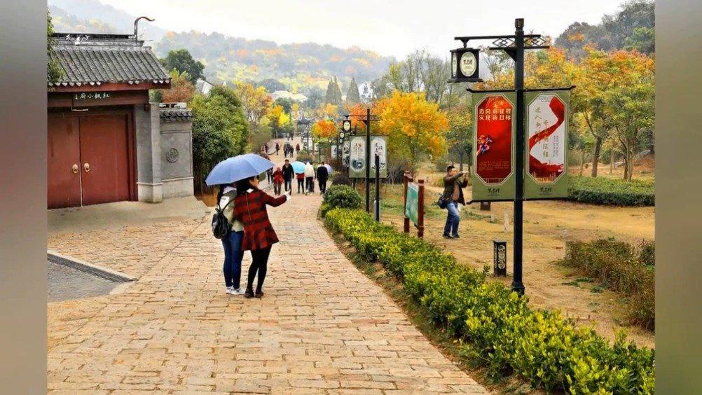 南京:美丽乡村秋景迷人