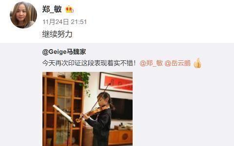 岳云鹏女儿拉小提琴被音乐家夸赞,哪些明星对子女培养最值得赞赏