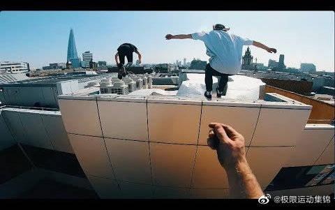 视角冲击   伦敦屋顶逃生