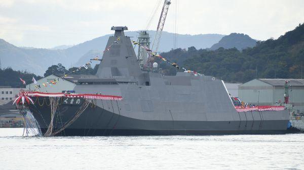 """日本海上自卫队新型护卫舰主打""""省人化"""" 欲将舰队规模增至54艘"""