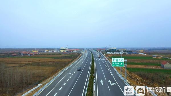 岚罗高速建成通车 临沂南枢纽立交至岚山港行车时间压缩至1小时