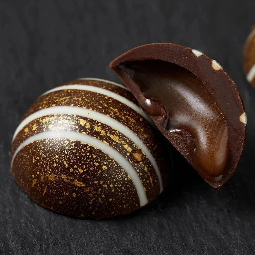 比利时大师手作巧克力,似银河星辰,颜值超高,美到不忍下口!