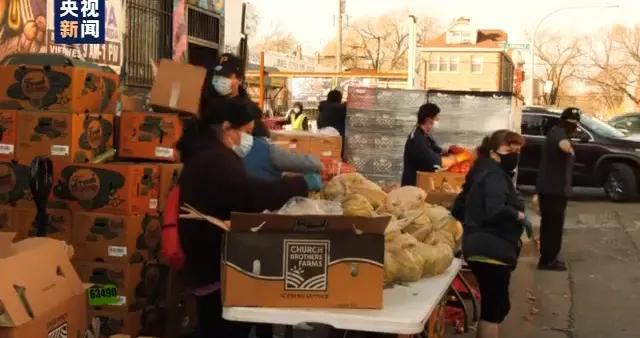 超5000万!美国近1/6人口面临粮食问题