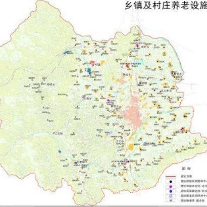 忻州城市养老服务设施规划:多个乡镇、村庄合建养老院