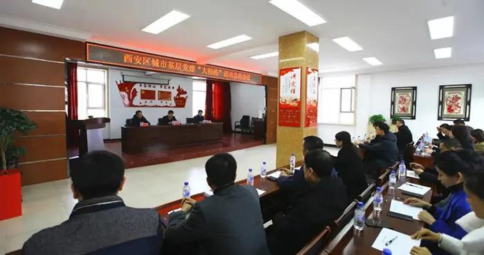 """辽源市西安区举办城市基层党建""""大拉练""""观摩活动"""