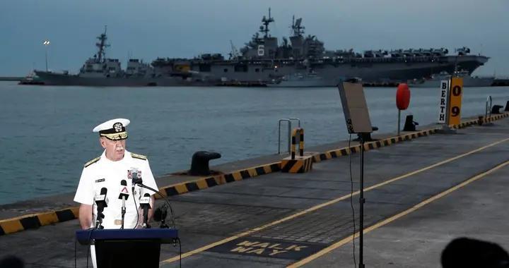 美国驱逐舰强闯俄领海,俄战舰火炮已瞄准,为啥没开火?