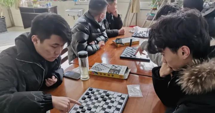 """提升棋艺乐在""""棋""""中!济宁职业技术学院首办国际跳棋比赛"""