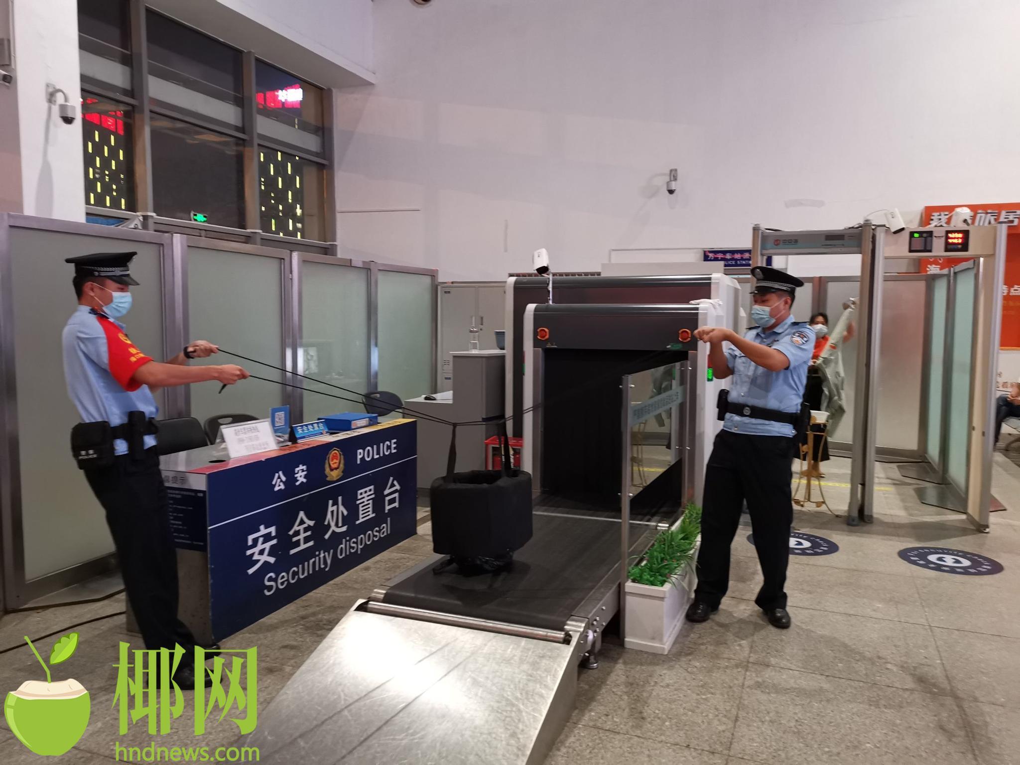 有嫌疑人携带爆炸物进入万宁站候车室引爆?别慌!这是演练!