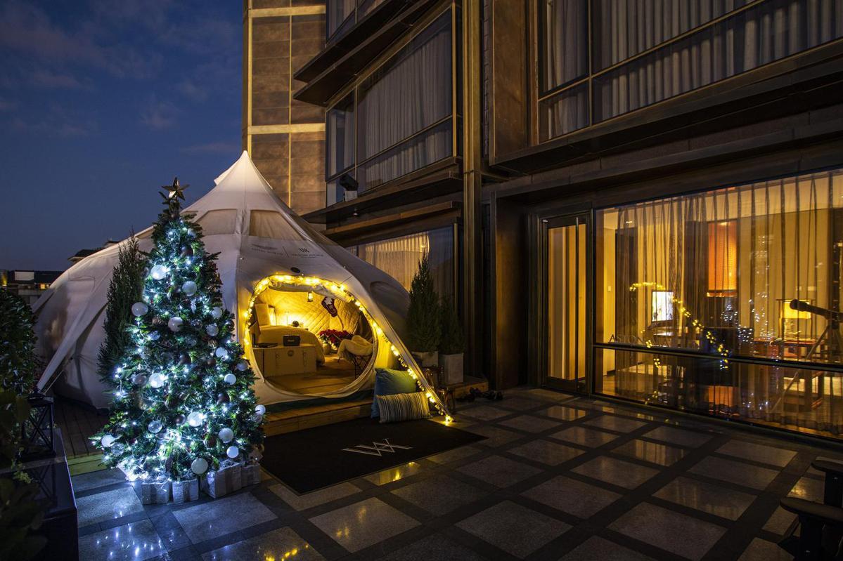 北京华尔道夫与阿斯顿·马丁再度携手打造冬季北欧主题专属套房