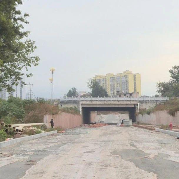 """西昌""""五路一桥""""项目新进展 多条道路明年年初具备通行条件"""